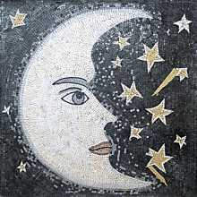 GEO132 Half Moon and Stars Mosaic