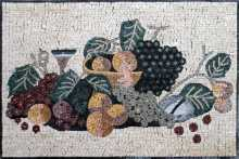 Fruit Arrangement Kitchen Backsplash Mosaic