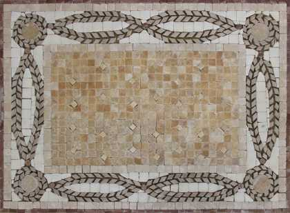 GEO2698P Polished Handmade Tile Art Backsplash  Mosaic