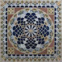 GEO2699 Square Majestic Oriental Arabesque