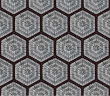 GEO2705 Repetitive Hexagon Pattern Tile