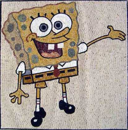 GEO631 Sponge bob reproduction mosaic