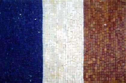 GEO660 France Flag reproduction Mosaic