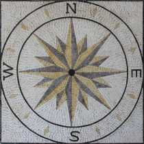 Nautical Compass Sea Navigation Decor