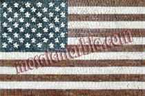 GEO907 USA Flag reproduction Mosaic