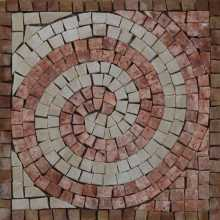 IN690 Mini Decor Accent Wave Life Spiral Moving Marble Mosaic