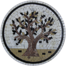 Olive Tree Gorgeous Round Kitchen Art