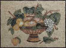 KB139 Kitchen Fruit Bowl Backsplash Wall Accent Marble Mosaic