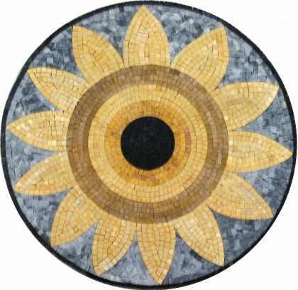 MD1064 Big sunflower Mosaic