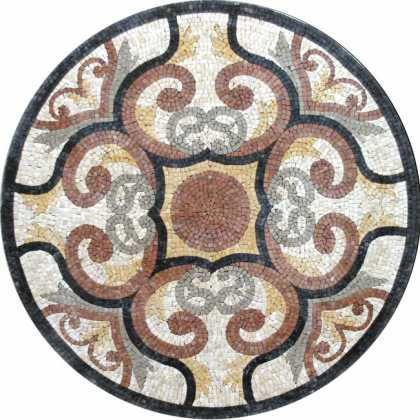 MD206 stone art Mosaic