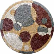 MD216 Bubbles marble mosaic art