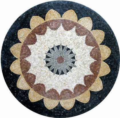MD219 Simple stone art Mosaic