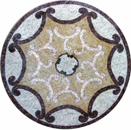 MD244 Classic design medallion Mosaic