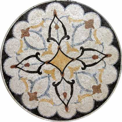 MD289 colorful decorative medallion Mosaic