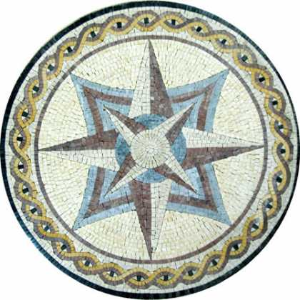 MD383 light compass art Mosaic