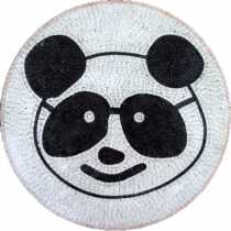 MD384 Panda Head Medallion Mosaic