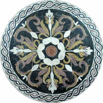 MD432 Medallion mosaic art