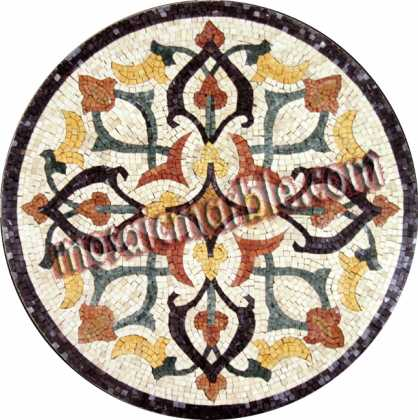 MD623 colorful decorative medallion Mosaic