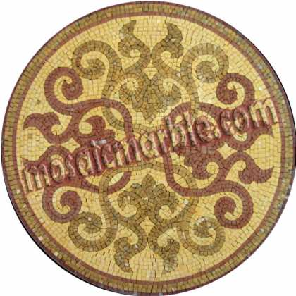 MD704 aristocratic design medallion Mosaic