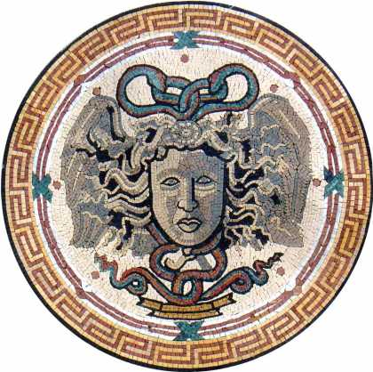 MD725 Medusa art Mosaic