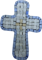 Mini Cross Accent Motif Mosaic
