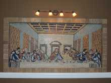 Dining Room Mural Mosaic