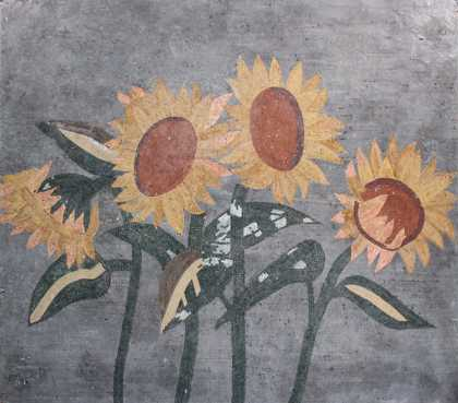 FL911 Sunflowers in Large Mosaic