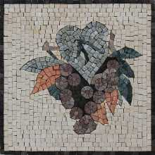 Grape Mosaic Kitchen Square Tile