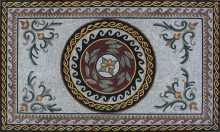Greco Roman Carpet Mosaic Recreation