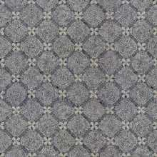 Repetitive Mini Flowers Pattern Mosaic Flooring