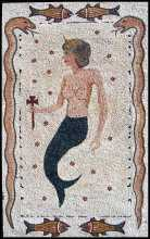 Goddess of the Sea Mosaic