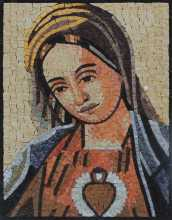 Mother Mary Mosaic Icon