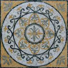 Outdoor Square Floor Tile Mosaic