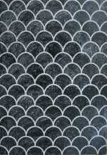 Scale Pattern Black and White Wallpaper Mosaic