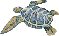 Sea Turtle No Background Mosaic