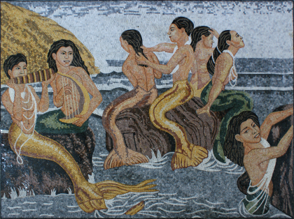 Party with the Sirens Mosaic