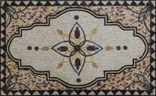 Spanish Mosaic Floor Rug