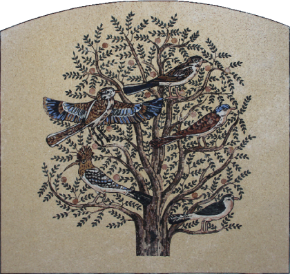 Grand Tree of Life Outdoor Mosaic