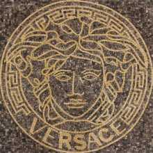 Medusa Logo Luxury Decor Marble Mosaic